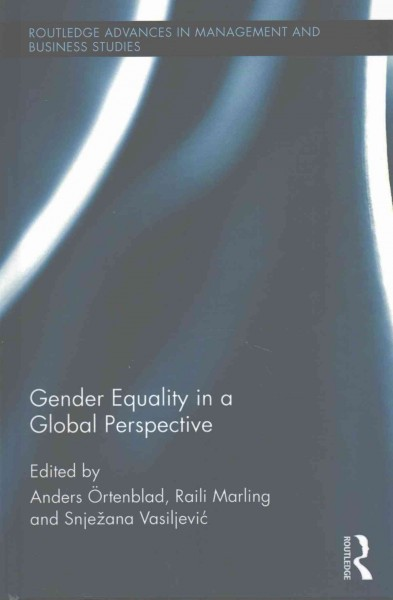 Gender equality in a global perspective /