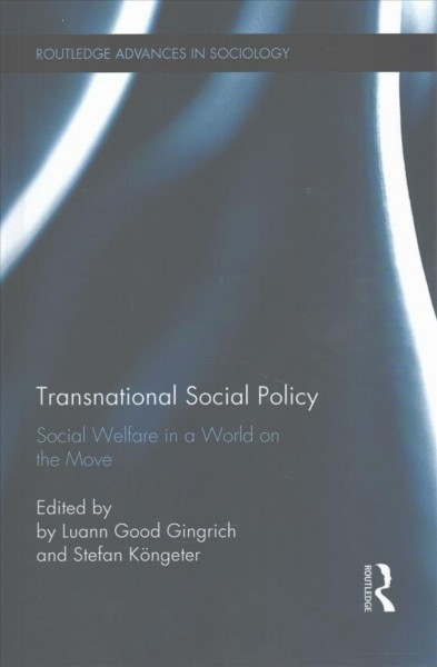 Transnational social policy : social welfare in a world on the move