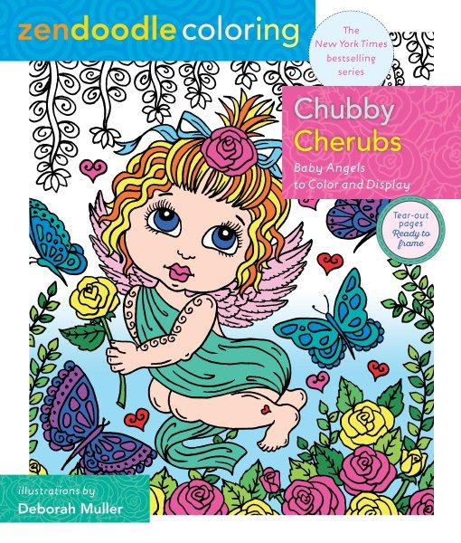 Zendoodle Coloring Chubby Cherubs