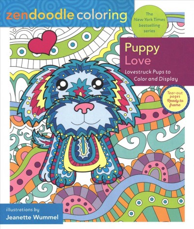 Zendoodle Coloring - Puppy Love