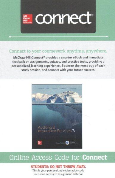 Auditing & Assurance Services, 2-semester Access
