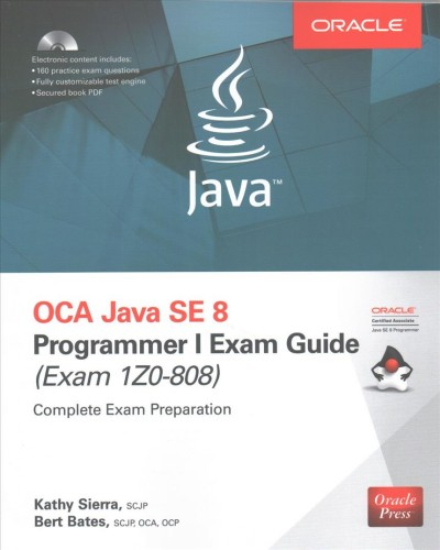 Oca Java Se 8 Programmer I Exam Guide - Exams 1z0-808