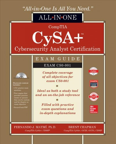 Comptia Csa+ Cybersecurity Analyst Certification All-in-one Exam Guide - Exam Cs0-001
