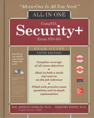 Comptia Security+ All-in-one Exam Guide, Exam Sy0-501