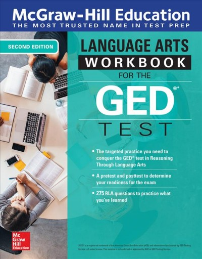 Mcgraw-hill Education Reasoning Through Language Arts Workbook for the Ged Test