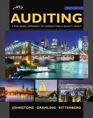 Auditing : a risk-based approach to conducting a quality audit