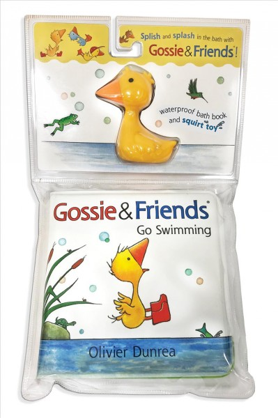 Gossie & Friends Go Swimming Bath Book With Toy
