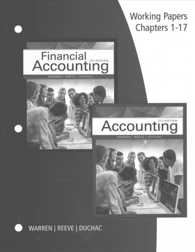 Accounting 27e and Financial Accounting 15e