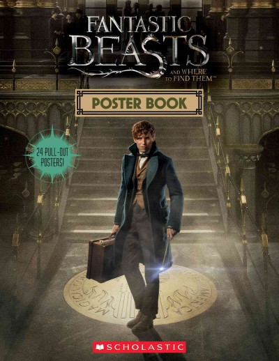 Fantastic Beasts and Where to Find Them:Poster Book 怪獸與牠們的產地電影海報書
