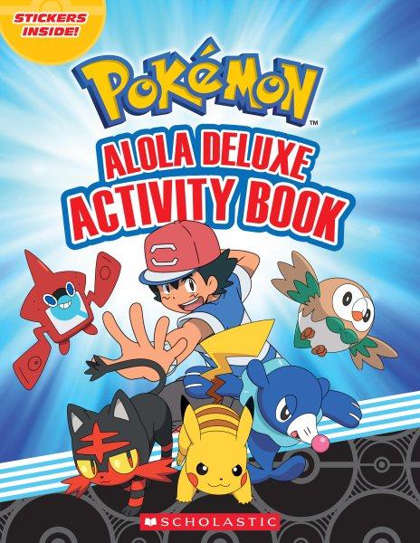 Alola Activity Book