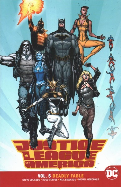 Justice League of America Rebirth 5
