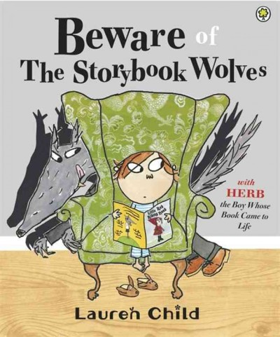 Beware of the storybook wolves /