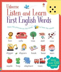 Listen & Learn First English Words Cards