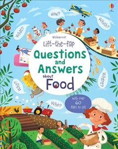 Lift-the-Flap Questions and Answers About Food (Lift-the-Flap     Questions & Answers)