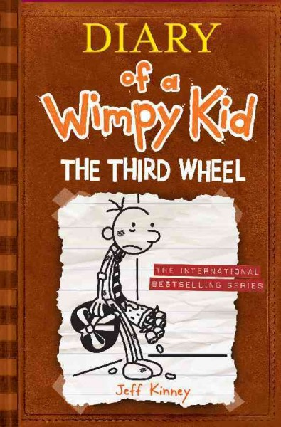 Diary of a Wimpy Kid 7: The Third Wheel 遜咖日記7:變調的情人節(平裝)