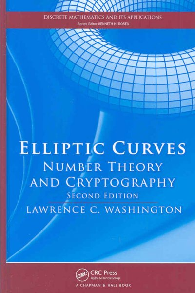 Elliptic Curves:Number Theory and Cryptography