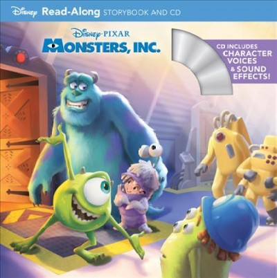 Monsters, Inc. Read-Along Storybook