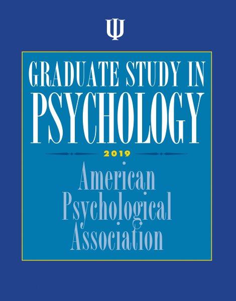 Graduate Study in Psychology 2019