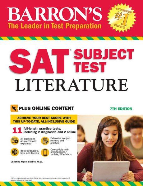 Barron's SAT Subject Test Literature