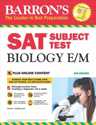 Barron's SAT Subject Test Biology E/M