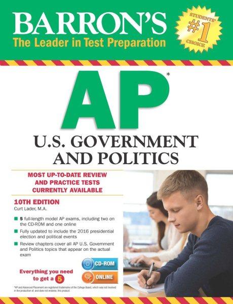 Barron's Ap U.s. Government and Politics + Cd-rom