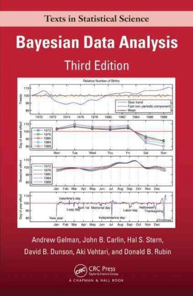 Bayesian Data Anlysis:3rd edition