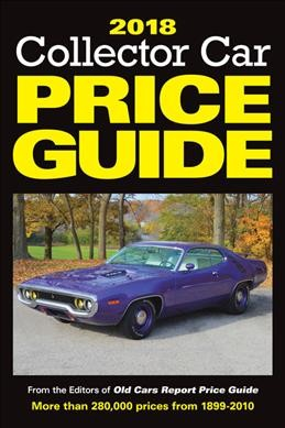 2018 Collector Car Price Guide