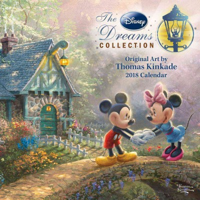 Thomas Kinkade - The Disney Dreams Collection 2018 Calendar