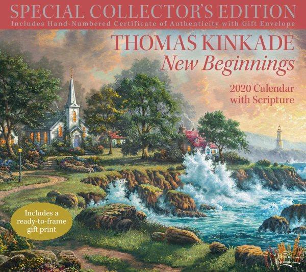 Thomas Kinkade Special Collector's Edition With Scripture 2020 Calendar