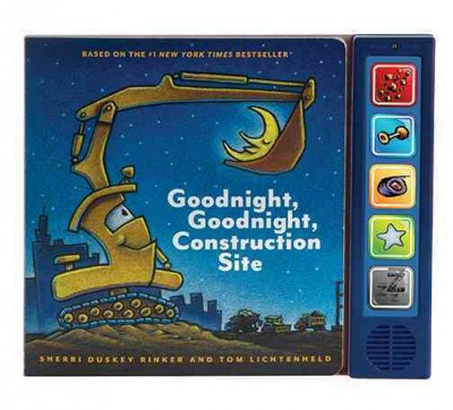 Goodnight, Goodnight Construction Site Sound Book