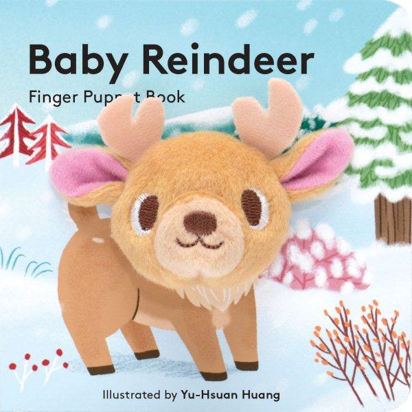 Baby Reindeer Finger Puppet Book