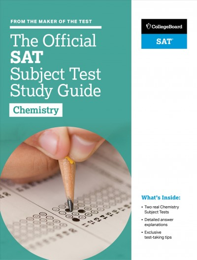 The Official Sat Subject Test in Chemistry