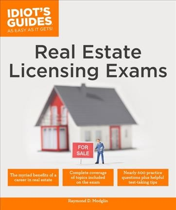Idiot's Guides Real Estate Licensing Exams