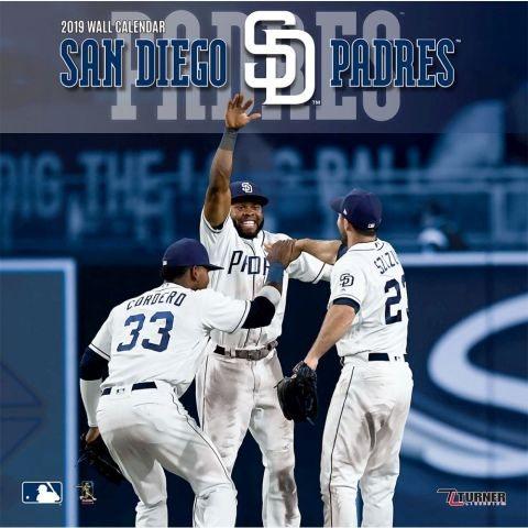 San Diego Padres 2019 Calendar(Wall)