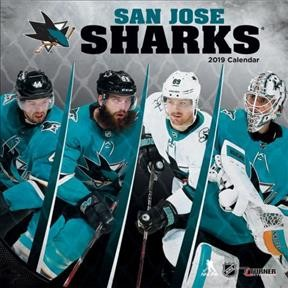 San Jose Sharks 2019 Calendar(Wall)