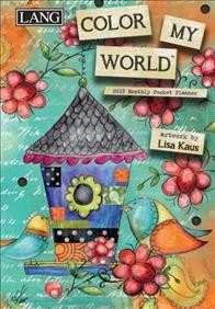 Color My World 2019 Monthly Pocket Planner
