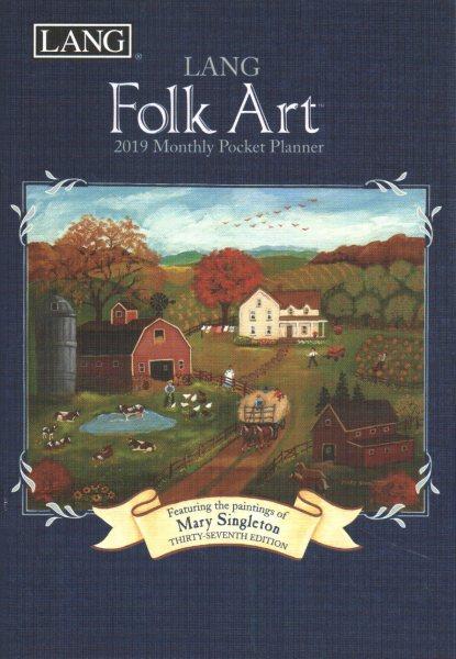 Lang Folk Art 2019 Monthly Pocket Planner