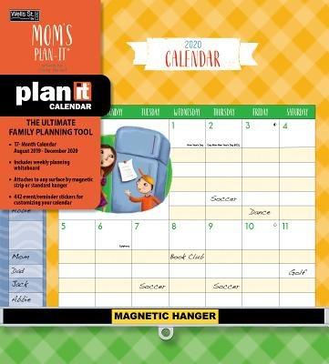 Mom's Plan-it 2020 Plan-it Plu(Wall)