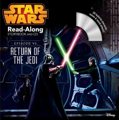 Star Wars:Return of the Jedi (Read along Storybook and CD)星際大戰英語閱讀書+CD