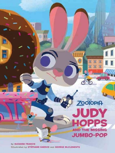 Judy Hopps and the Missing Jumbo-Pop