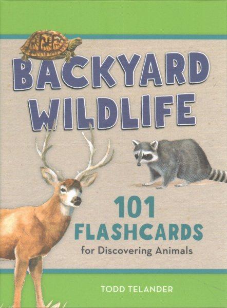 Kids' Backyard Wildlife Flashcards