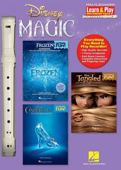 Disney Magic Learn & Play Recorder Pack