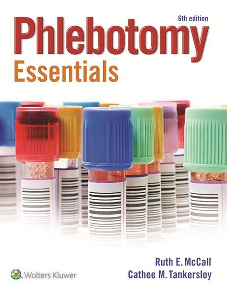 Phlebotomy Essentials + Workbook + Prepu