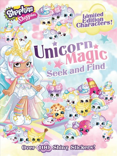 Shoppies Unicorn Magic Seek and Find