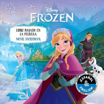 Disney Frozen Movie Storybook/ Libro basado en la pel獳ula