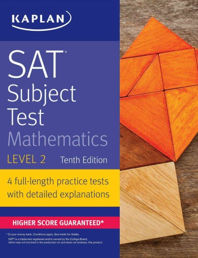 Sat Subject Test Mathematics Level 2