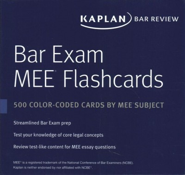 Bar Exam Flashcards Mee