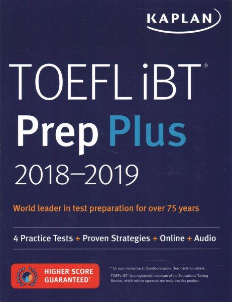 TOEFL® iBT : : Prep Plus 2018-2019.