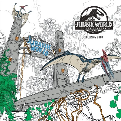 Jurassic World - Fallen Kingdom Adult Coloring Book