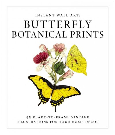 Butterfly Botanical Prints
